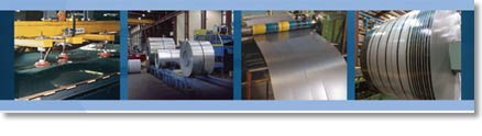 Hot-rolled, Cold-rolled, Aluminized, Electro-Galvanized, Galvalume®